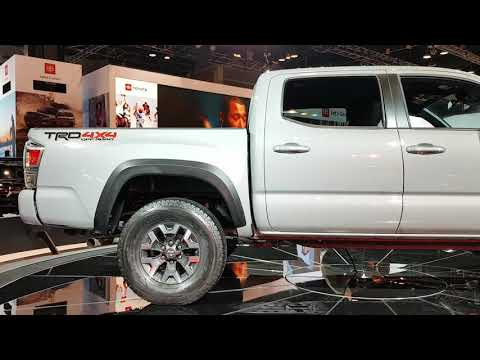 2020 Toyota Tacoma TRD at the 2019 Chicago Auto Show