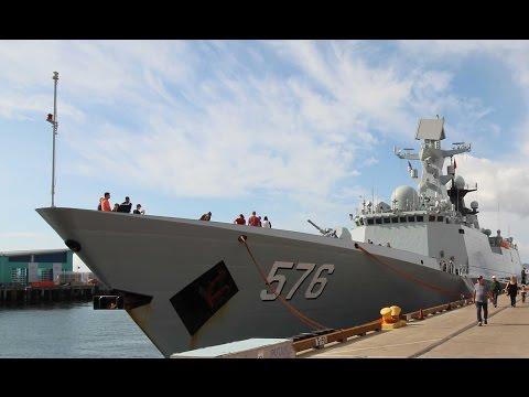 Chinese Warship Daqing San Diego Tour 2017