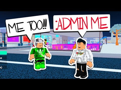 HOW TO GET ADMIN COMMANDS IN THIS ROBLOX GAME!!