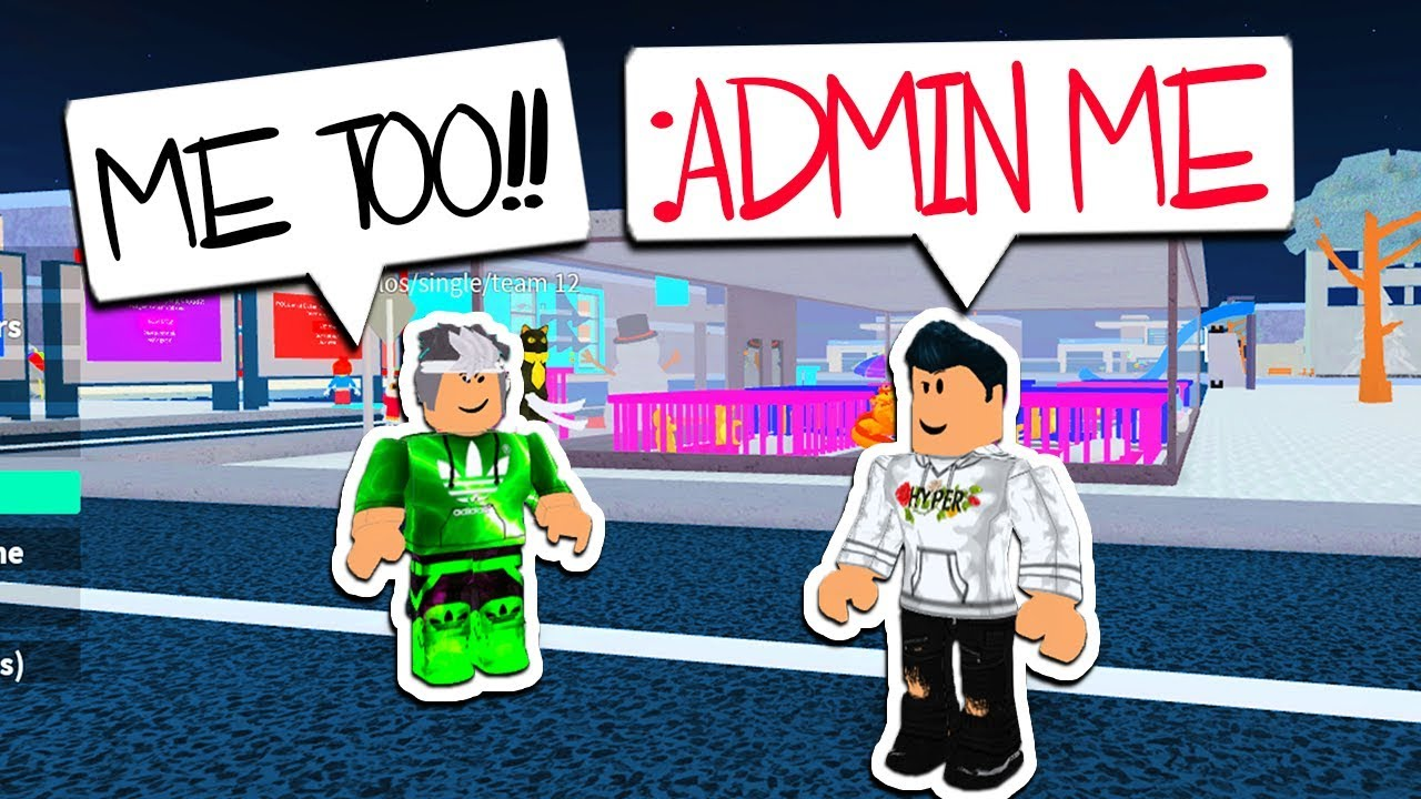 How To Get Admin Commands In This Roblox Game Youtube