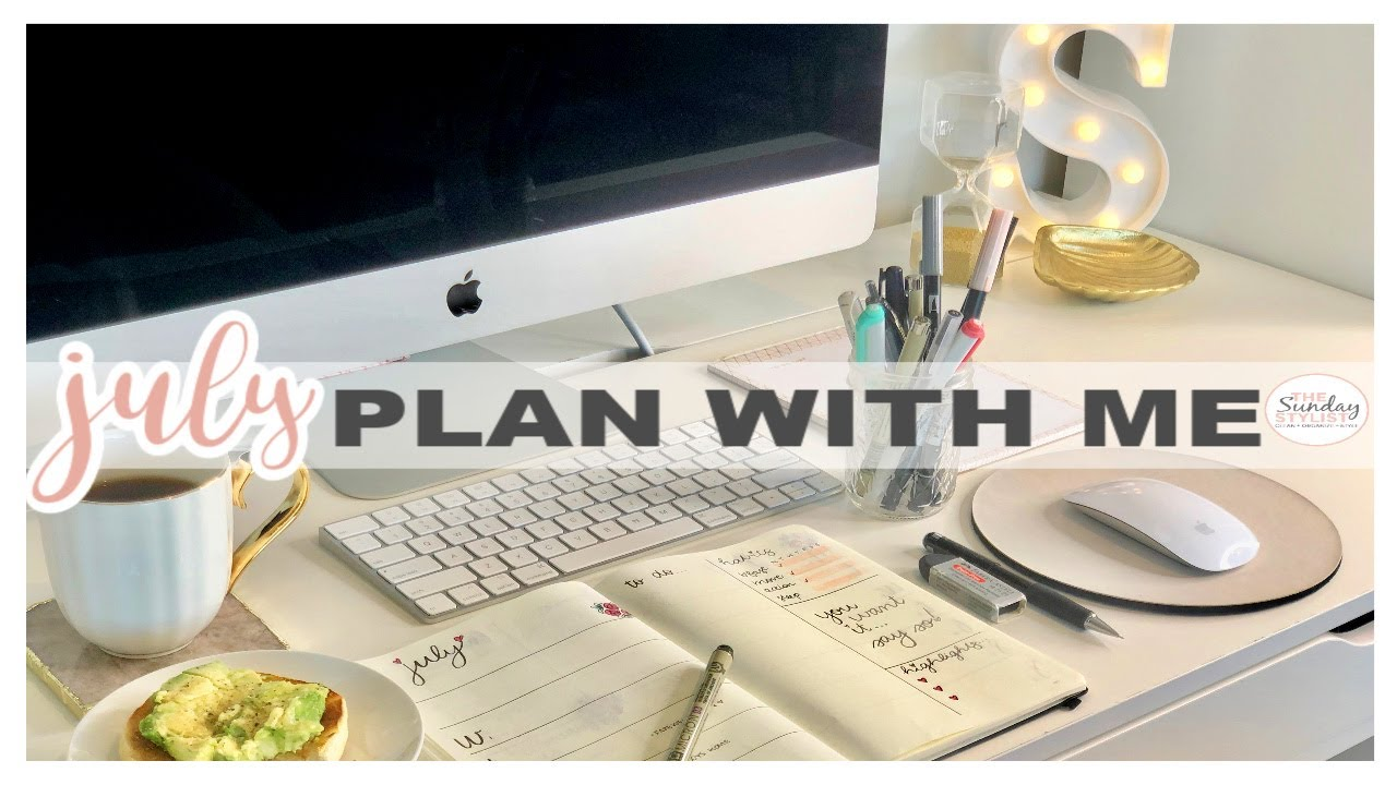 PRODUCTIVE DAILY ROUTINES + PLAN WITH ME 2020!!! || THE SUNDAY STYLIST