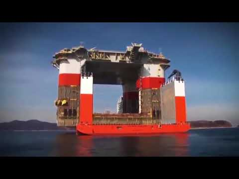 World's Largest Semi submersible Heavy Transport Vessel