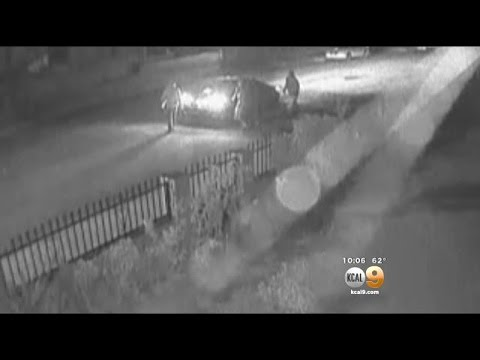 Caught On Camera: Group Attacks Bicyclist In El Monte