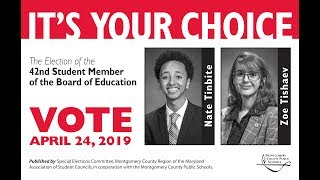 Meet The Candidates for Student Member of the Board 2019