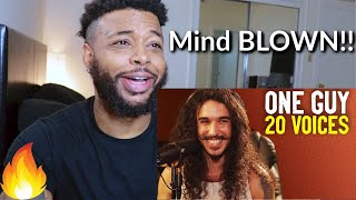 One Guy, 20 Voices (Michael Jackson, Post Malone, Roomie & MORE) | Reaction