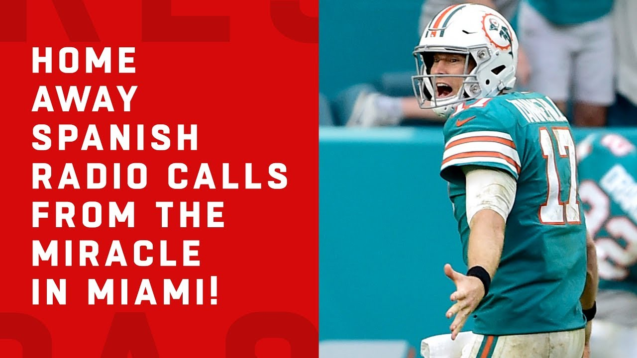 Home, Away, & Spanish Radio Call of the Miracle in Miami!