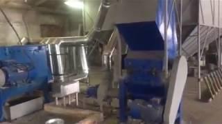 Сделано в Украине! Обзор линии для переработки полимеров.