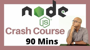 Node JS Tutorial   Crash Course