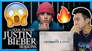 REACTING TO JUSTIN BIEBER SEASONS OFFICIAL TRAILER | FT. YUMMY (YOUTUBE ORIGINALS)