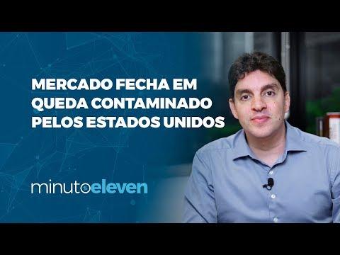 Mercado fecha em queda contaminado pelos EUA | Minuto Eleven 29/10