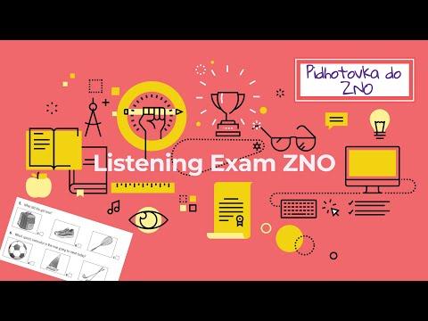 Аудіювання з англійської мови B1. Підготовка до ЗНО/Listening Exam