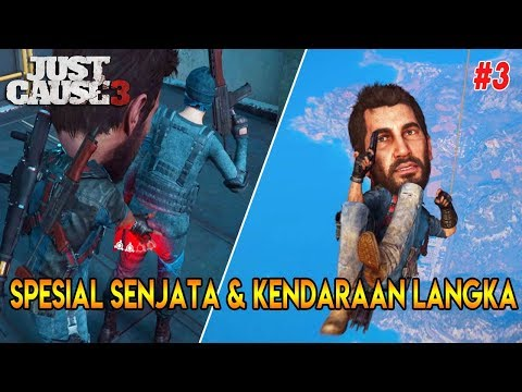 MOMEN LUCU | 10 FAKTA & RAHASIA JUST CAUSE - 3 PART 3 | JC 3 EASTER EGGS & SECRETS
