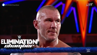 WWE ELIMINATION CHAMBER 2017 LUKE HARPER VS RANDY ORTON RESULT! #WWEChamber