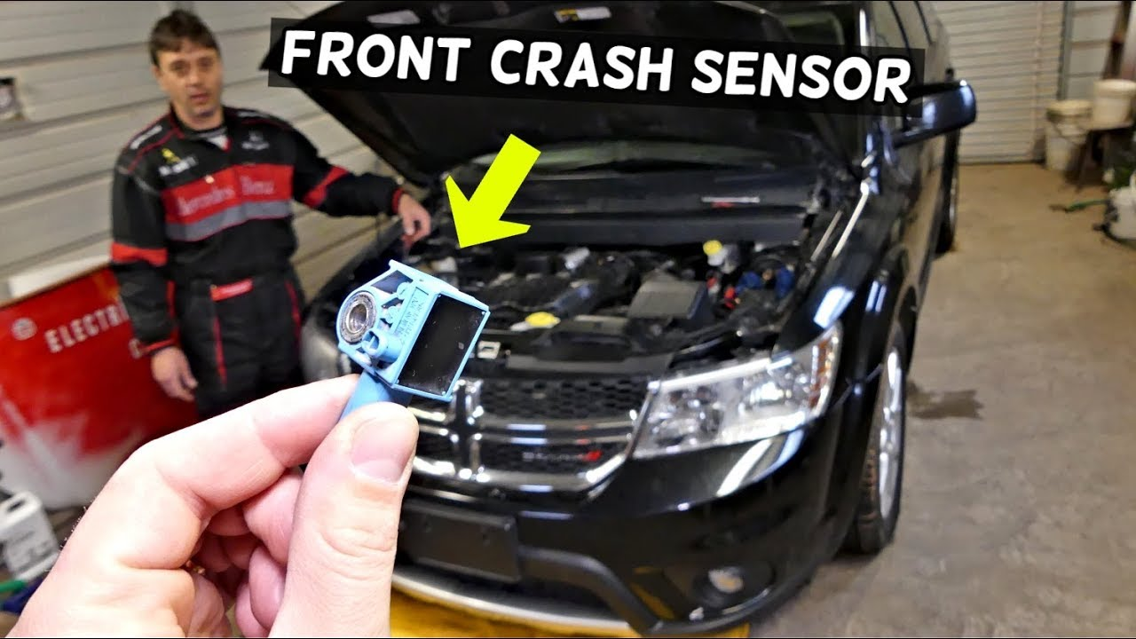 DODGE JOURNEY FRONT AIRBAG CRASH SENSOR REPLACEMENT LOCATION | Fiat Freemont
