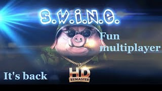 SWINE HD Remaster gameplay review - Pigs vs rabbits - strategy with a parody - good old games