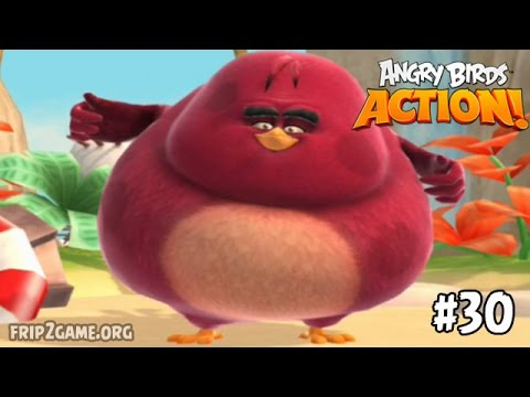 Angry Birds Action! Terence Unlocked level 30 Walkthrough