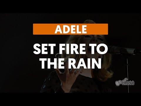 Set Fire to the Rain - Adele (aula de violão)