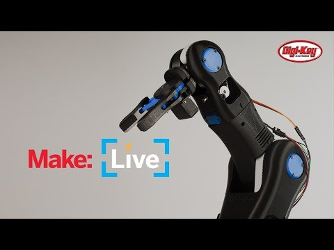Make Live: Moveo Robot Arm
