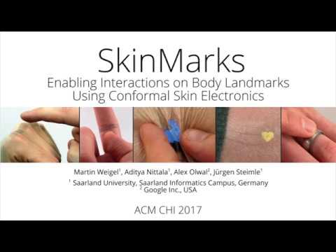 SkinMarks: Enabling Interactions on Body Landmarks