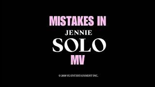 Jennie Solo MV Mistakes