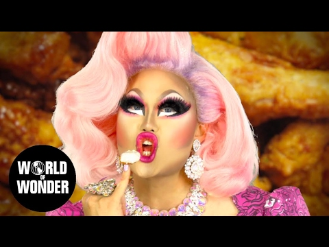 KIM CHI on How to Eat in Drag (hint: with nails!)