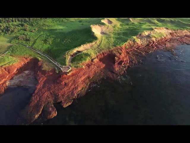 By Tourism PEI  Birds Eye View. Featured on Food &Travel Magazine