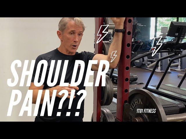 WORK THROUGH SHOULDER PAIN! Tips to Keep You Working Out!