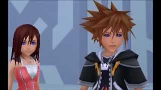 KH2 Sora, Kairi, and Riku Reunite