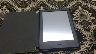 NuPro SlimFit Cover for New Kindle (8th Generation), Green