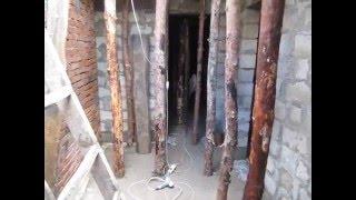 як зробити перекриття льоху з бетону