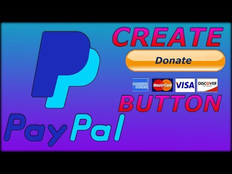 How To Make PayPal Donate Button WITHOUT Business Account - PayPal Tutorial 2019