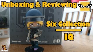 R6 Real Life IQ chibi Figure - Unboxing and Reviewing Six Collection (Series 1)