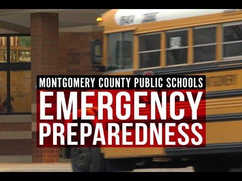 Emergency Preparedness in Montgomery County Public Schools