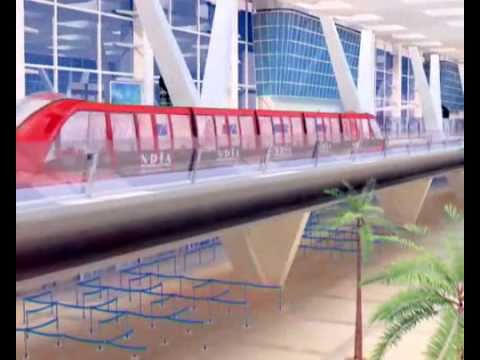 DCC Doppelmayr Cable Car Doha International Airport Metro