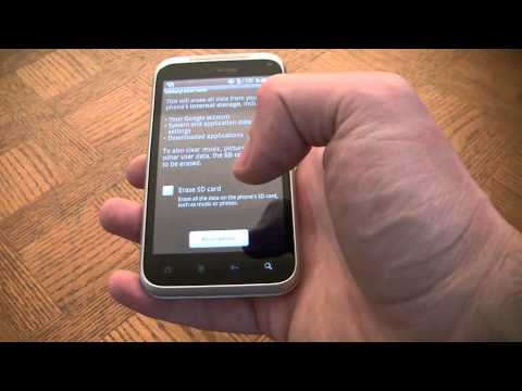 How To Reset An HTC Droid Incredible 2 Smartphone To Factory Settings