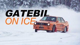 GATEBIL ON ICE - Drifting, Sigdal 2015! wFredric Aasbo &amp Kenneth Alm