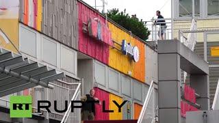 بالفيديو.. الشرطة الألمانية تداهم المتورطين في أحداث ميونيخ