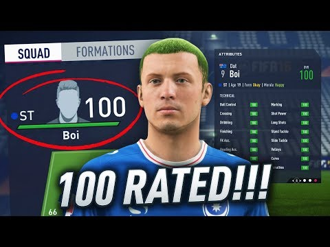 THE FIRST EVER 100 RATED PLAYER IN FIFA!!! THE END OF DAT BOI