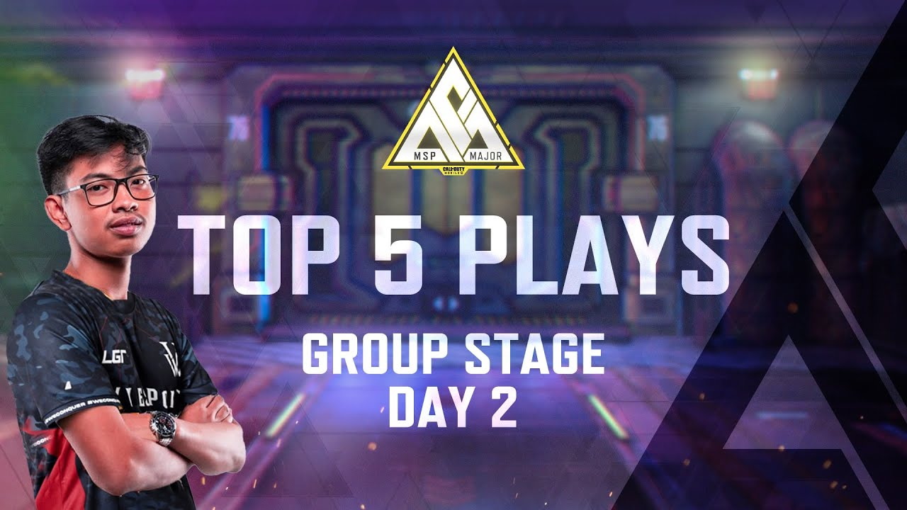 Top 5 Plays of Day 2 Group Stage - MSP Major