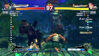 USF4: prince_shant (Dudley) vs Koumori (Ryu)