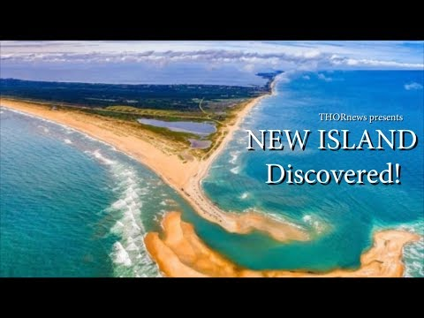 New Island discovered right off the Atlantic Coast! What created it?