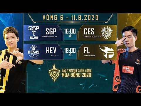 SGP vươn lên ngôi đầu bảng, FL nhận thất bại đầu tiên trước HEV - Vòng 6 Ngày 2 - ĐTDV mùa Đông 2020