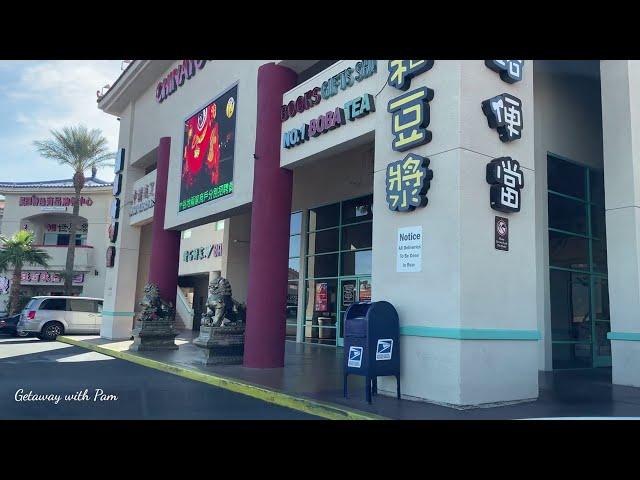 [4K] LAS VEGAS CHINATOWN TO MARYLAND PKWY DRIVING/ LAS VEGAS TRAVEL GUIDE