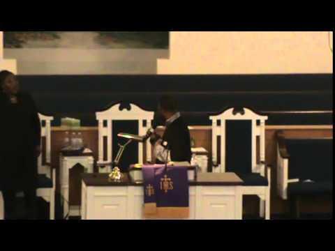 Pastor Lorenzo Neal peraching Pt 1