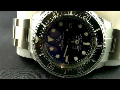 ROLEX DEEPSEA SEA-DWELLER with Two Tone Dial