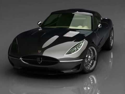 Jaguar E Type >> Jaguar Lyonheart K - YouTube