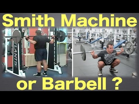 Smith Machine or Barbell – Which one should you use?