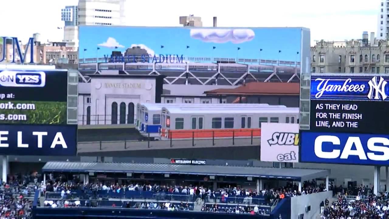 subway race yankee stadium 4/18