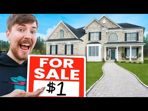 Selling Houses For $1 - MrBeast