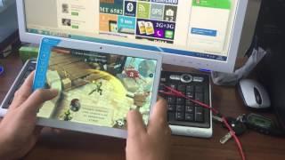 Игровой обзор Планшет-Телефон GOCLEVER 9.6